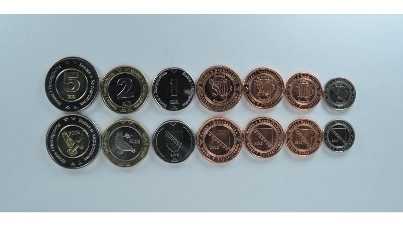 Bosnija ir Hercegovina 7 monetų rinkinys