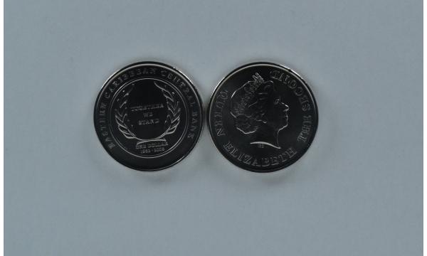 Rytų Karibai 1 doleris