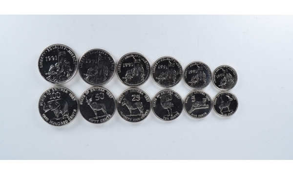 Eritrėja 6 monetų rinkinys