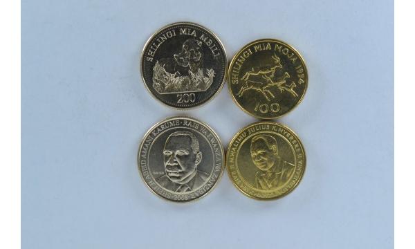 Tanzanija 2 monetų rinkinys