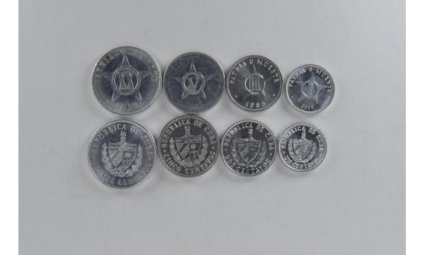 Kuba 4 monetų rinkinys