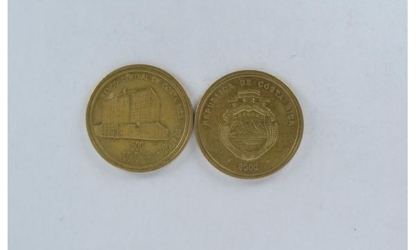 Costa Rica 500 Colones 2000
