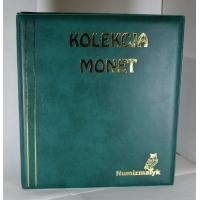 Albumas monetoms žalias 221 monetai
