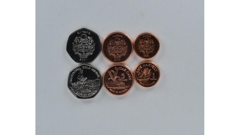 Gajana 3 monetų rinkinys