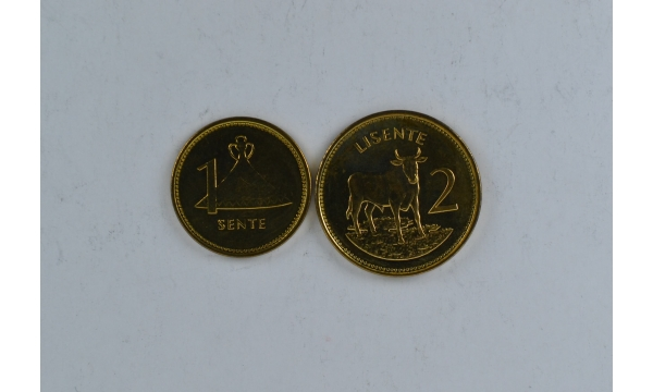 Lesotas 2 monetų rinkinys