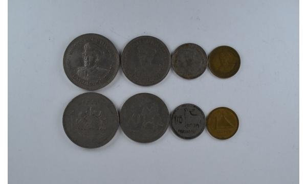 Lesotas 4 monetu rinkinys seno tipo