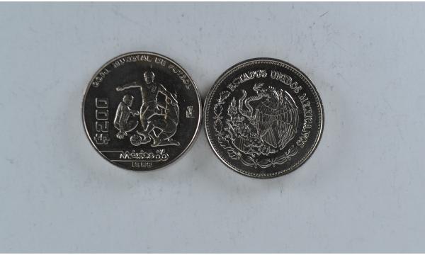 Meksika 200 pesos 1986m. Proginė