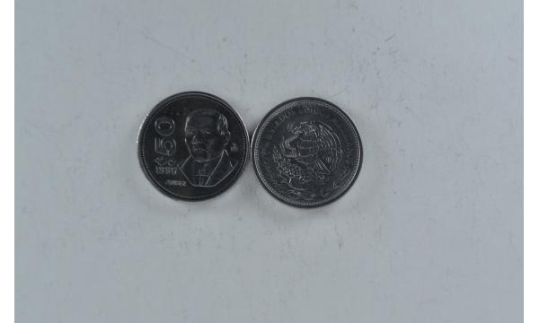 Meksika 50 pesos Juarez