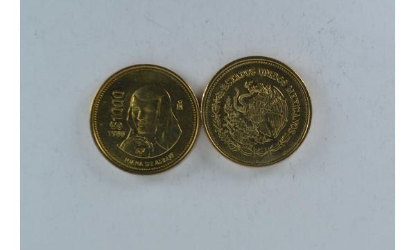 Meksika 1000 pesos Juana de Asbaja