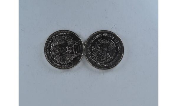 Meksika 50 pesos Majų šventykla
