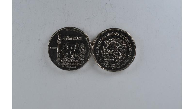 Meksika 200 pesos 1985 Nepriklausomybė
