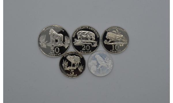 Vakarų Sachara 2020  5 monetų rinkinys