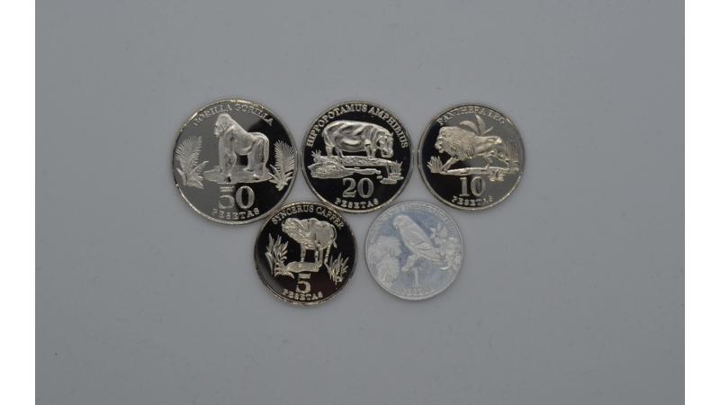 Vakarų Sachara 2020  5 monetu rinkinys