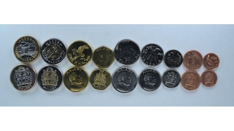 Malavis 9 monetų rinkinys