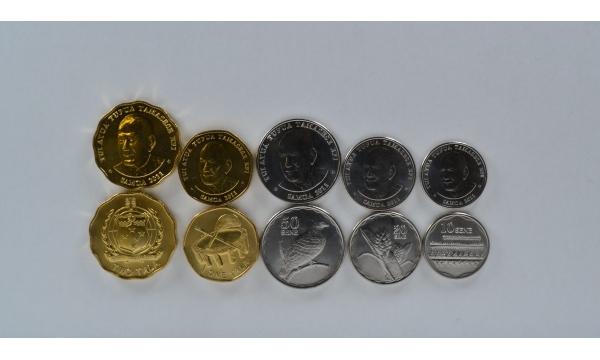 Samoa 5 monetų rinkinys 2011