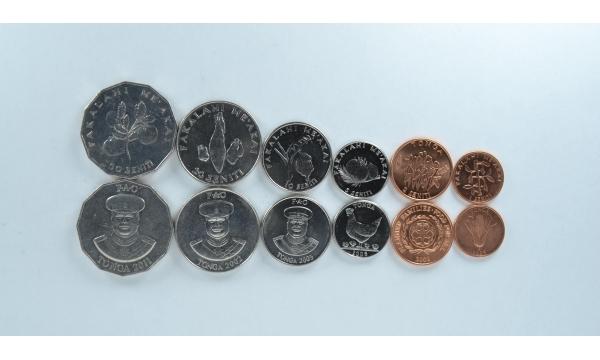 Tonga 6 monetų rinkinys