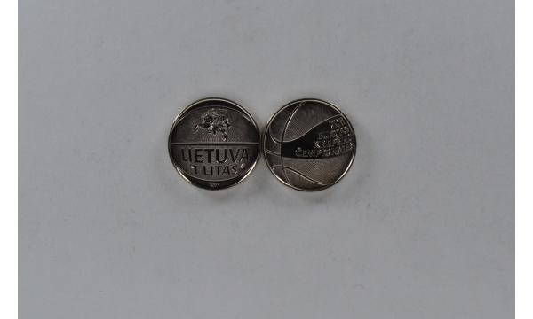 Lietuva 1 litas krepšinis
