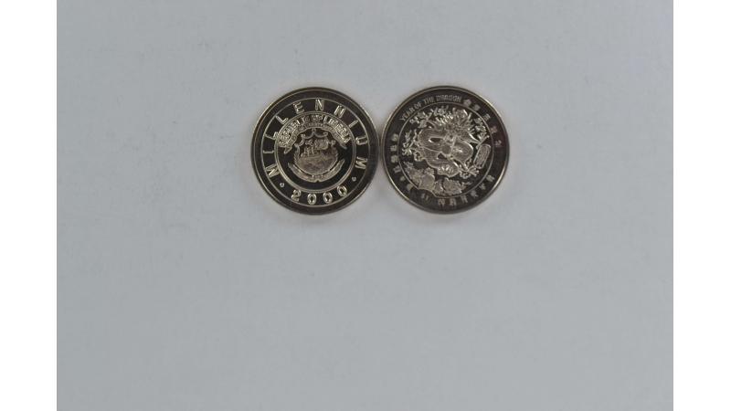 Liberija 1 doleris Drakono metai